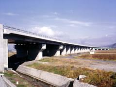 長野自動車道 犀川高架橋工事