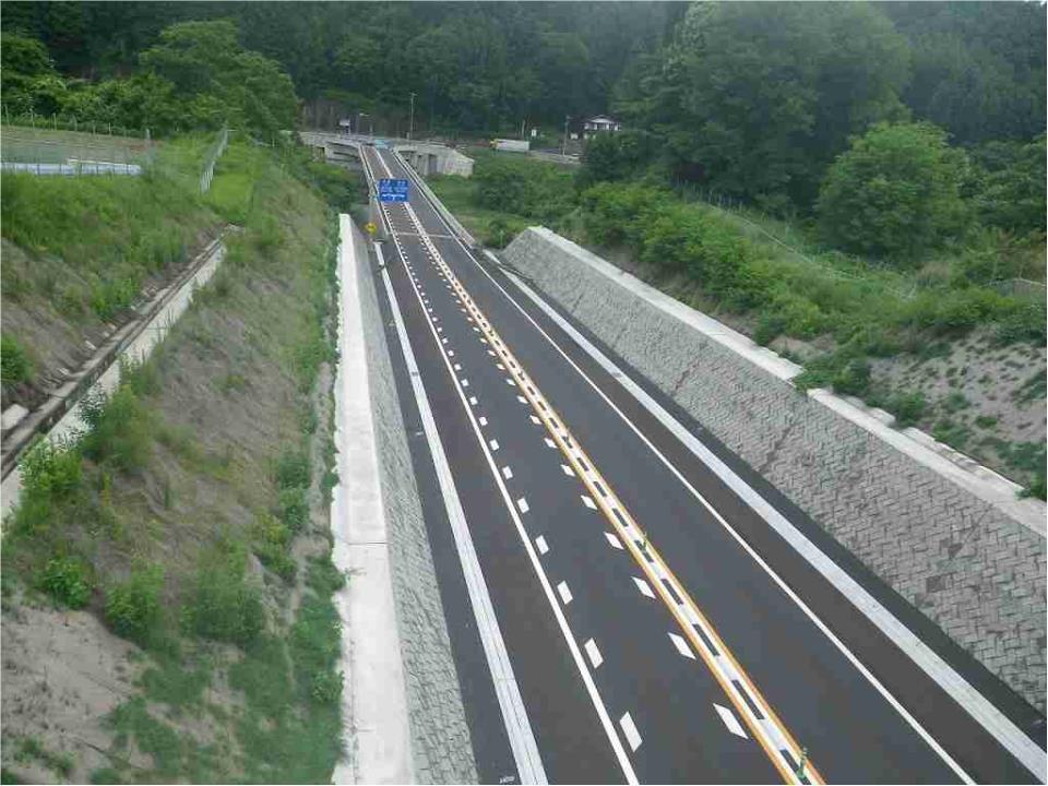 H26 中部横断道八千穂改良その1